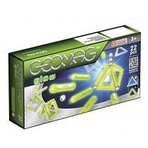 Geomag, Glow Construction Panels Set 22 pieces