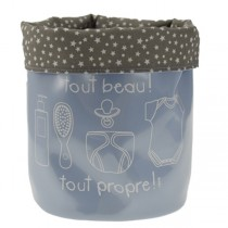 Incidence, SOS Baby Storage Basket, Light Blue