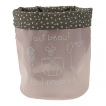 Incidence, SOS Baby Storage Basket, Light Pink
