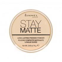Rimmel Stay Mat Pressed Powder 001 Transperant 14g