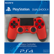 Sony PlayStation 4 DualShock 4 Controller, Red