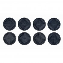 OXO - Coaster 8 Pcs / Black