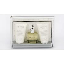 Jacadi Bebe Birth Kit,Cleansing Gel 50ml + Cleansing Milk 50ml + Dry Oil 50ml