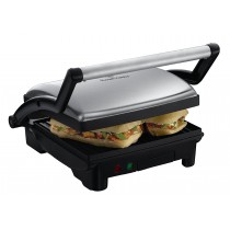 Russell Hobbs 3-in-1 Panini Press, Grill and Griddle, Stainless Steel - 17888-56