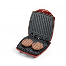 Ariete Burger Sandwiches Maker, 1200W, Red and Black - 0185