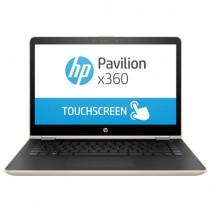 HP Modern Gold, Convertible Core i3 -7100U dual, 4GB 1TB+8GBN, HD Graphics, 14 inch TOUCH FHD, Windows 10 - 1VJ92EA