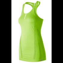 New Balance, Women's New Balance M4M Seamless Breathe Tank, Green