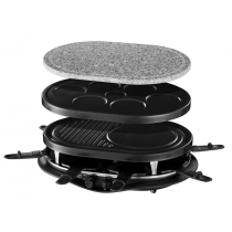 Russell Hobbs Raclette 4-in-1 Foursome, grill/grilling stone/multi-pancake/grill-pancakes, 1200 W - 2100-56