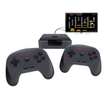 Arcade GameStation Console with 2 Wireless Controllers