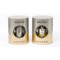 Azzaro Wanted Gift Set, Eau De Toilette 50ml +Deodorant Stick 75ml