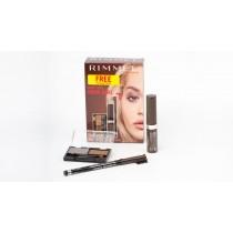 Rimmel Eyebrow Kit, Brow This Way Eyebrow Kit wax and powder + Brow This Way Eyebrow Gel Argan Oil + Free Professional Eyebrow Pencil