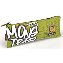 Gabol School, School Pencil Case, One Zipper Monsters, Pack of 1