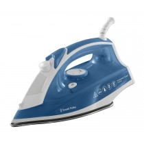 Russell Hobbs Supreme Steam Traditional Iron, 2400 W, White/Blue - 23061