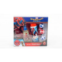 Spiderman Gift Set, Eau De Toilette 75ml +Shower Gel 175ml+ Game