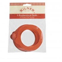 Kilner, Pack Of 6, Replacement Seals, 3 litres