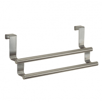 Interdesign, Forma Otc Double Towel Bar, Brushed Stainless Steel
