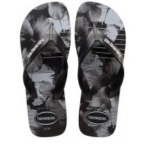 Havaianas, Surf Black White  4058, Slippers