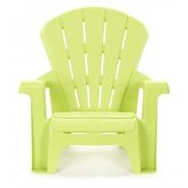 Little Tikes 46cm High Kid's Garden Chair Green