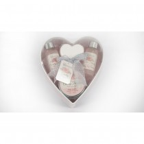IDC Institute, Country Flowers Heart Tin