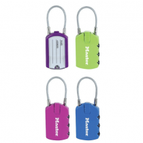 Master Lock, Address Tag, Reset Combo, Colored