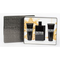 Zadig & Voltaire This Is Him Gift Set, Eau De Toilette 50ml + 2*Shower Gel 75ml