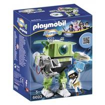 PLAYMOBIL Super 4 Cleano Robot Building Kit