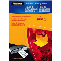 Fellowes, Cleaning Sheet, Laminator, A4, Pack of 1