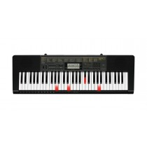 Casio, 61-Key Lighted Portable Touch Sensitive Keyboard with Power Supply, Black - LK-265