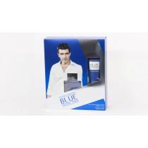 Antonio Banderas Blue Seduction Gift Set, Eau De Toilette 50ml + After Shave Balm 50ml