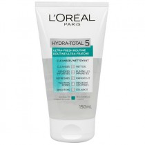 L'Oreal Hydratotal 5 Gel Wash For Normal To Combination Skin 150ml