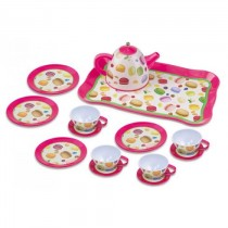 Playgo, Tea Set For Four, Macaroon
