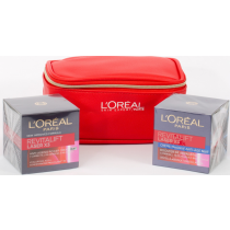 L'Oreal Age Perfect Gift Set, Age Perfect Day 50 ml + Age Perfect Night 50 ml + Trendy Pouch