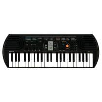 Casio Mini Keys Keyboard, Black - SA-77