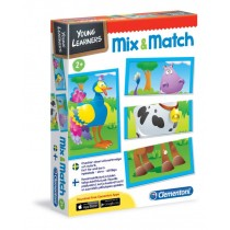 Clementoni, Mix and Match, English