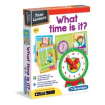 Clementoni, What Time is it, English