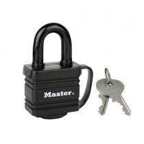 Master Lock, Shackle, 40 MM, Black