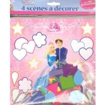 Gommettes Barbie Princesse Stars