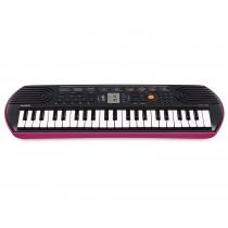 Casio Mini Keys Keyboard, Pink - SA-78