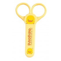 Piyo Piyo, Baby Nail Scissors Yellow with Cover