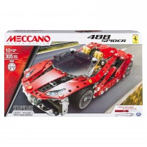 Meccano, LIC Vehicle Building Set, Red