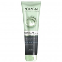 L'Oreal Pure Clay Detox Foam Wash Black 150ml