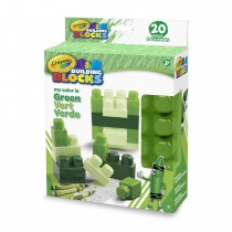 Crayola, Work My Color Is Green 20pc Set.