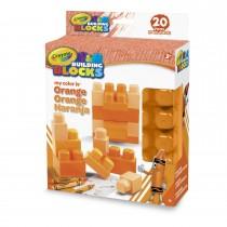 Crayola, Work My Color Is Orange 20pc Set.