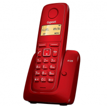 Gigaset A120R Cordless Phonebook, Red