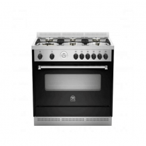La Germania Cooker, Double Heat Surround, Full Safety Black