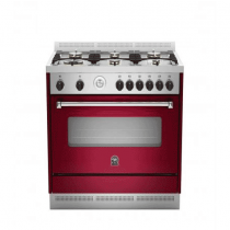 La Germania Cooker, Double Heat Surround, Full Safety Burgundy
