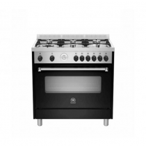 La Germania Cooker, Cast Iron Grids, Full Safety Black