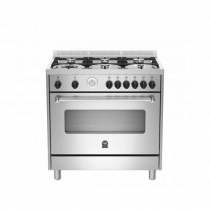 La Germania Cooker, Cast Iron Grids, Full Safety Stainless