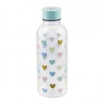 """Miss Etoile, Water Bottle """"Multi Hearts"""""""