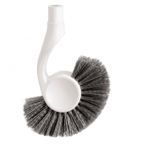 simplehuman, Toilet Brush, White Head